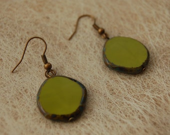 Pendants khaki Green