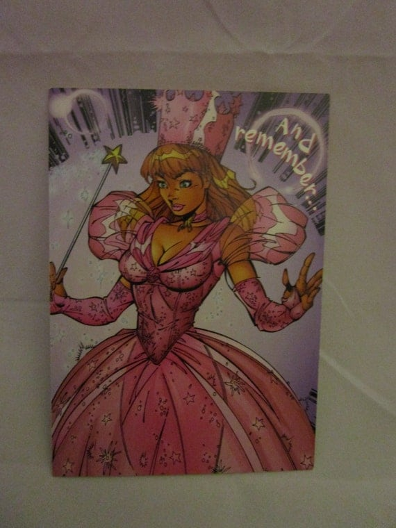 Glinda of Oz Cartoon Card