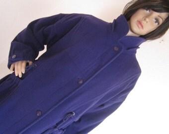 Vintage 80s wool coat jacket coat S oversize Colette Germany