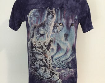 Vintage Wolf / Wolves Tee S