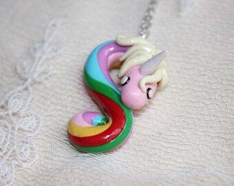 Lady Rainicorn pendant, Lady Rainicorn necklace, Adventure time pendant, Adventure time necklace, cartoon pendant, cartoon ecklace