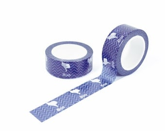boo gesture - purple 15mm x 10m decorative masking tape