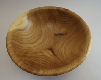 Hand Turned Salvaged Elm Classic Wood Bowl
