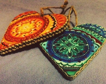 Handpainted Wooden Decorations