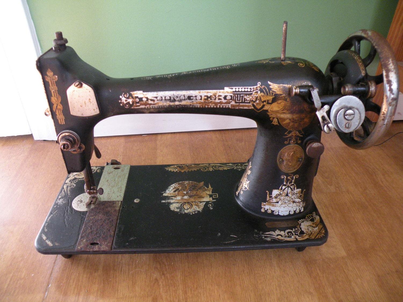singer sewing machine treadle parts