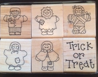 Tricks & Treats Halloween stamp set by CTMH
