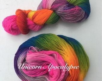 Squishy Sock lite: Unicorn Apocalypse