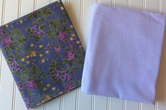 Marcus Brothers Textiles Inc Roses Lavender Gardens Purple