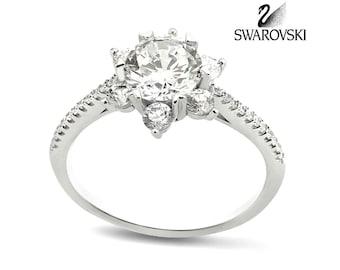 Swarovski Solitaire Ring R1024WW