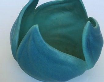 Van Briggle Leaf Swirl Pottery