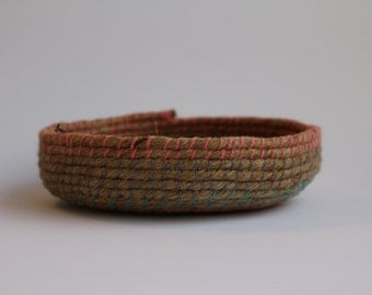 Rope Coil Bowl - Natural Fibres