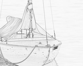 Nautical Coloring Page from The Center For Wooden Boats Seattle