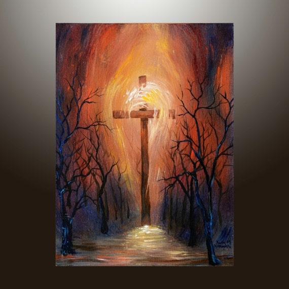 Acrylic Painting Crosses