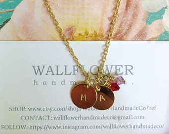 Personalized Charm Necklace