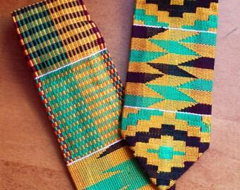 Ghana Kente Cloth Ties