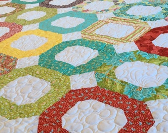 Modern Quilt Handmade Gift