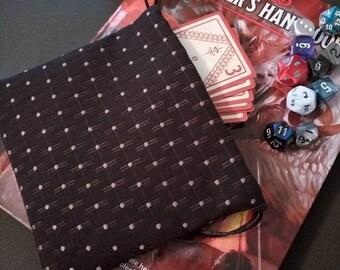 Custom Made Dice Bag Gaming/Magic Drawstring Pouch Cosplay Purse