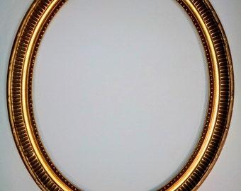 16 x 20 Gold leaf wood frame Downton Abbey Decor Victorian 012