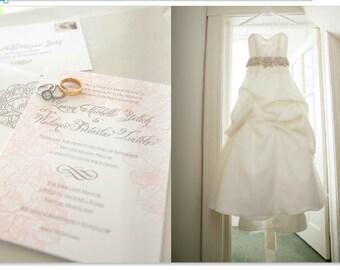 Example Wedding Photo Album, Digital Download Design