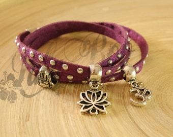 rebecca triple bracelet