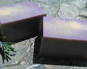 Purple Sandalwood Goats Milk Soap