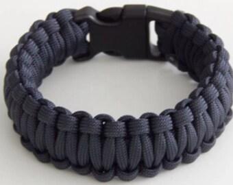 Paracord Bracelet - Gray