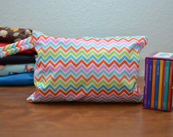 Small Wetbag - Multicolored Chevron