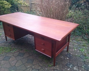 Arne Vodder Teak Executive Desk