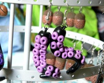 tentacles ROSE PARMA earrings