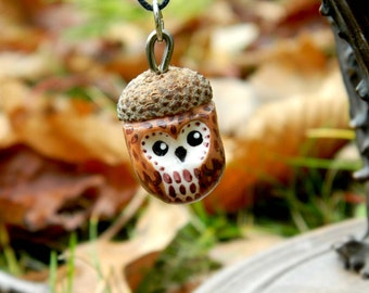 Necklace OWL OWL Acorn