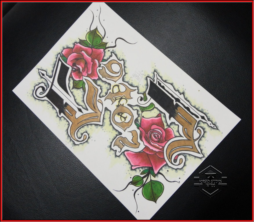 Wedding gift individual unique tattoo art artwork for Gifts for tattoo artist