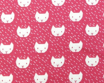 Dear Stella Fabric- Dress Me Playground- Cats in Punch- Wild Wee Gallery