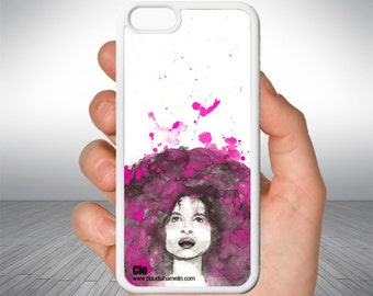 """Afro"" cellphone case"