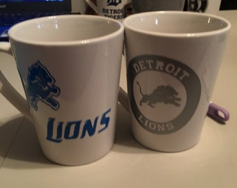 Detroit Lions mugs