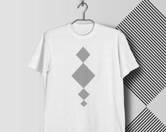 Modern Squares T shirt