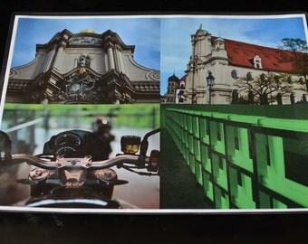 Mini Poster (A4) München XX15