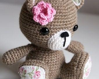 Rose the teddy bear