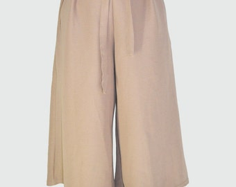 Minimalist Culottes Pants (with rubber waistband)