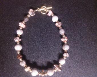 Leopard skin jasper bracelet