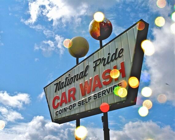 Auto Pride Car Wash: Items Similar To National Pride Car Wash On Etsy