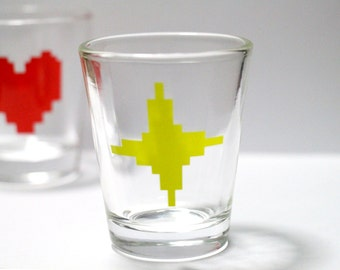 Undertale Shot Glass - Determination