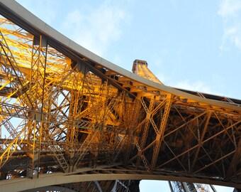 Eiffel Tower, architecture, steel, building, lights, paris, structure, iron, daytime,