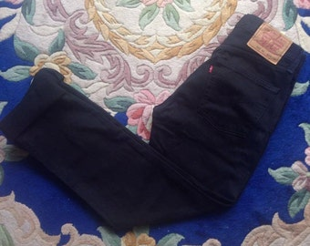 Lévis 595 W29L32 jean black