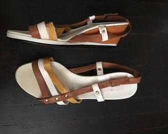 1960s wedge sandal