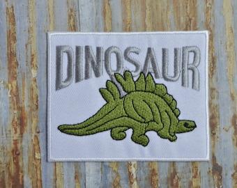 Dinosaur Boy Iron On Sew On Patch Transfer