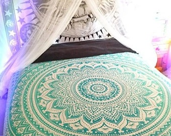 Mandala Tapestries,Hippie Wall Hanging, Bohemian Tapestry,Beach Blanket, Dorm Decor Wall Art