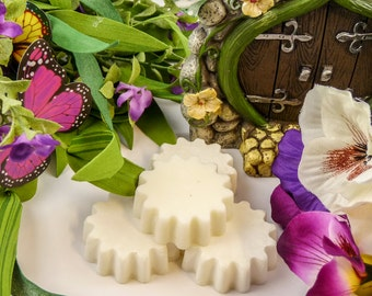 SECRET GARDEN Wax Tarts / Natural Wax Melts / Aromatherapy / Candle Melts / Spa Scents / Soy Melts / Soy Tarts / Gifts for Women Under 10