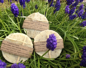 Oatmeal Lavender Mint Cold Processed Soap