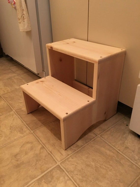 One Step Step Stool With Handle