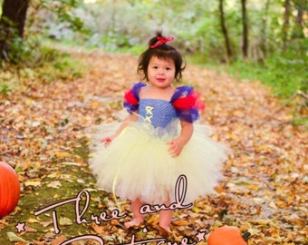 Snow White Tutu Dress - Princess Dress